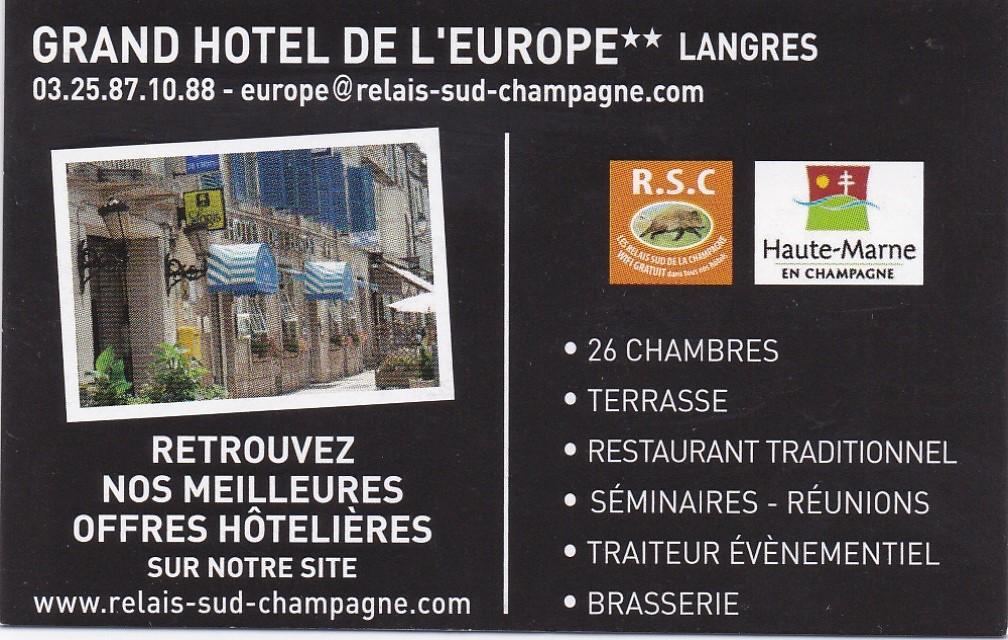 Gran Hotel de l'Europe Langres